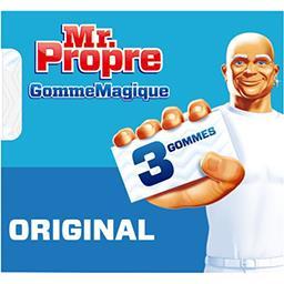 Mr. Propre Mr Propre Gomme magique original, nettoie comme par magie Le paquet de 3