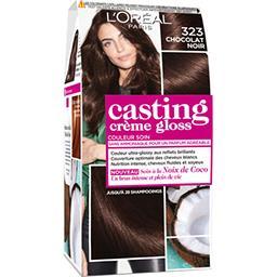 L'Oréal L'Oréal Paris Casting Crème Gloss - Couleur soin sans ammoniaque chocolat noir 323 la boite