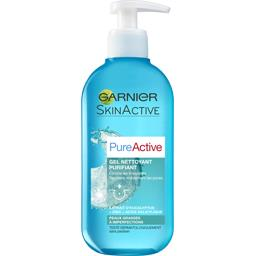 Garnier Garnier Pure Active - Gel nettoyant purifiant le tube de 200 ml