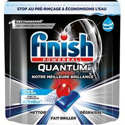 Finish Finish Powerball - Tablettes lave-vaisselle Quantum Ultimate le sachet de 35 capsules - 437,5 g
