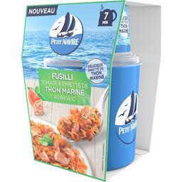 Petit Navire Petit navire Fusilli tomate & émietté de thon mariné basilic la boite de 140 g