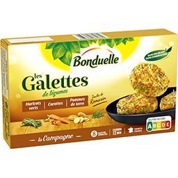 Bonduelle Bonduelle Galettes haricots verts carottes pommes de terre la boite de 8 galettes - 300 g