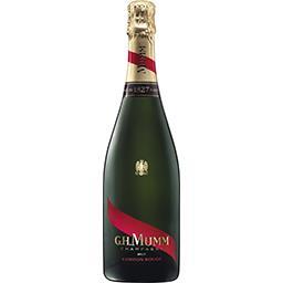 G. H. Mumm Sélection Foire aux vins Mumm, Champagne Cordon Rouge brut, AOP la bouteille de 75 cl
