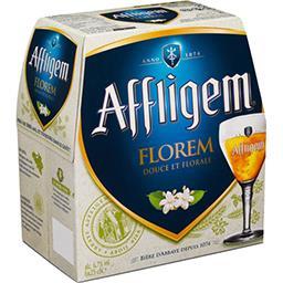 Affligem Affligem Florem - Bière aromatisée fleur de sureau les 6 bouteilles de 25cl
