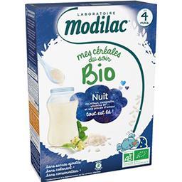 Modilac Modilac Céréales Bio du soir dès 4 mois la boîte de 250g