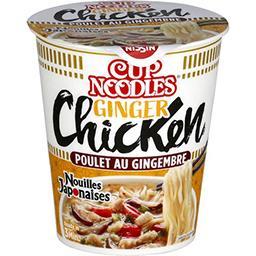 Nissin Nissin Nouilles déshydratées au poulet gingembre le pot de 63g