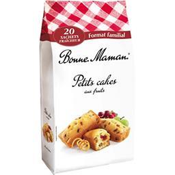 Bonne Maman Bonne Maman Cakes aux fruits le sachet de 600g