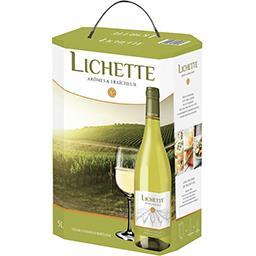 Lichette Caves Vernaux Vin blanc caves vernaux lichette La fontaine de 5l