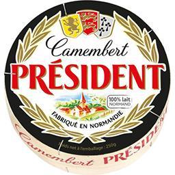 Président Président Camembert la boite de 250 g
