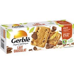 Gerblé Gerblé Biscuit lait chocolat la boite de 20 biscuits - 230 g