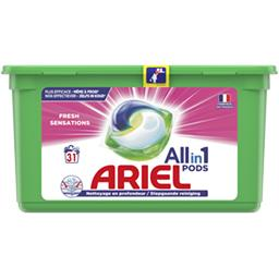 Ariel Ariel Lessive en capsules allin1 pods fresh sensations La boite de 31 capsules