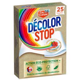Eau Ecarlate Eau Ecarlate Décolor Stop - Lingettes Action Complète Eco-Protection la boite de 25