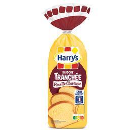 Harry's Harrys Brioche Tranchée Recette Classique Nature Sans Additifs le paquet de 485g