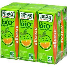 Pressade Pressade Le BIO - Nectar d'orange BIO les 6 briquettes de 20 cl