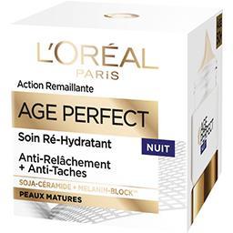 L'Oréal L'Oréal Paris Age Perfect - Soin ré-hydratant nuit, anti relâchement + anti tâches le pot de 50 ml