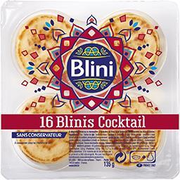 Blini Blini Blinis cocktail la barquette de 16 - 135g