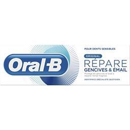 Oral B Oral B Dentifrice répare gencives & émail original Le tube de 75 ml