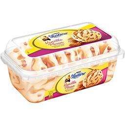 Nestlé La Laitière Crème glacée vanille pécan sauce caramel beurre salé le bac de 510 g