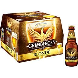 Grimbergen Grimbergen Bière blonde d'Abbaye le pack de 16x25cl