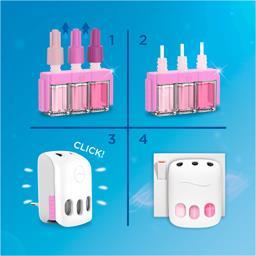 Désodorisant électrique ambi pur 3volution rosée du matin