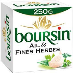 Boursin Boursin Fromage à tartiner ail & fines herbes la boite de 250 g