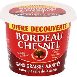 Bordeau Chesnel Bordeau Chesnel Rillettes du Mans sans graisse ajoutée le pot de 220g