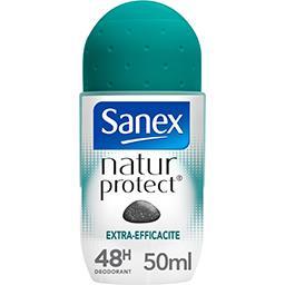 Sanex Sanex Natur Protect - Déodorant 48h extra-efficacité à la pierre d'alun le roll-on de 50 ml