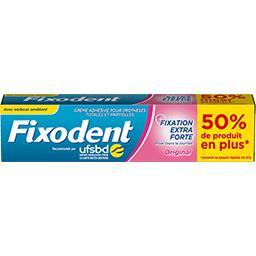 Fixodent Fixodent Crème adhésive extra forte pour prothèses dentaires Le tube de 70,5g