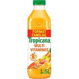 Tropicana Tropicana Jus de fruits Multivitamines la bouteille 1,5 l