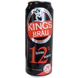 Kingsbräu Kingsbräu Bière blonde extra forte la canette de 50 cl