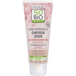 SO'BiO étic So'bio Etic Après-shampooing cheveux doux lait d'amande le tube de 200 ml