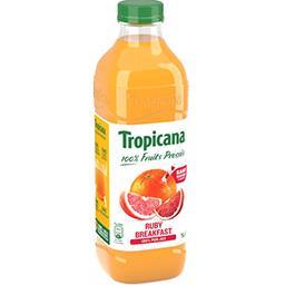 Tropicana Tropicana Pure Premium - Jus de fruits Ruby Breakfast la bouteille de 1 l