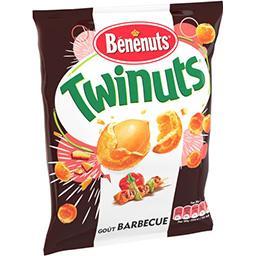 Bénénuts Bénénuts Twinuts - Cacahuètes goût Barbecue le sachet de 150 g