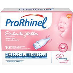 Prorhinel Prorhinel Embouts nasal jetables la boite de 10