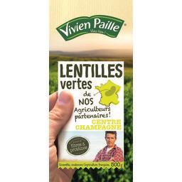 Vivien Paille Vivien Paille Lentilles vertes de nos agriculteurs partenaires ! le paquet de 500 g