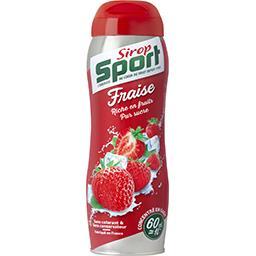 Sirop Sport Sirop Sport Sirop de fraise la bouteille de 60 cl