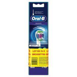 Oral B Oral-B Power Tête de brosse à dents électrique la boite de 2