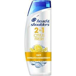 Head & Shoulders Head & Shoulders Shampoing citrus fresh 2 en 1 - antipelliculaire Bouteille de 270ml