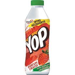 Yoplait Yoplait Yop - Yaourt à boire parfum fraise la bouteille de 850 g - Offre Découverte