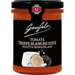 Garofalo Garofalo Sauce tomates cuisinée à la Ricotta Romana AOP et aux truffes blanches d'été le pot de 185g