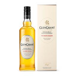 Glen Grant Glen Grant Single Malt Scotch Whisky la bouteille d'1l + étui