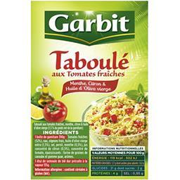 Garbit Garbit Taboulé aux tomates fraîches la boite de 525 g