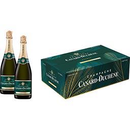 Canard Sélection Foire aux vins Canard-Duchêne, Champagne brut 12%, AOP la bouteille de 150 cl