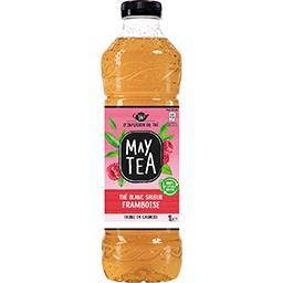 May Tea May Tea Thé blanc saveur framboise la bouteille de 1 l