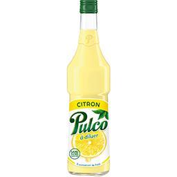 Pulco Pulco Spécialité de citron à diluer la bouteille de 70 cl