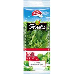 Florette Florette Basilic la barquette de 11 g
