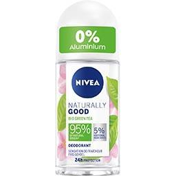 Nivea Nivea Déodorant naturally good au thé vert Bio le roll-on de 50ml