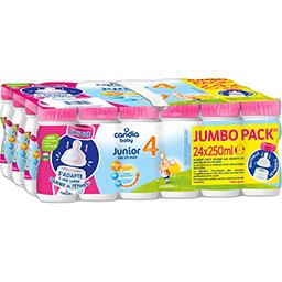 Candia Candia Baby Lait bébé croissance liquide 20 à 36 mois les 24 bouteilles de 250ml - 6l