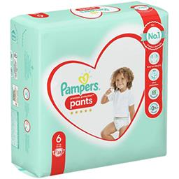 Pampers Pampers Couches-culottes premium protection nappy pants t6 Le paquet de 28 couches