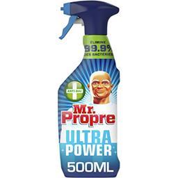Mr. Propre Mr Propre Ultra power, nettoyant multi-usages antibacterien Le spray de 500ml